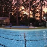 Bush School pool